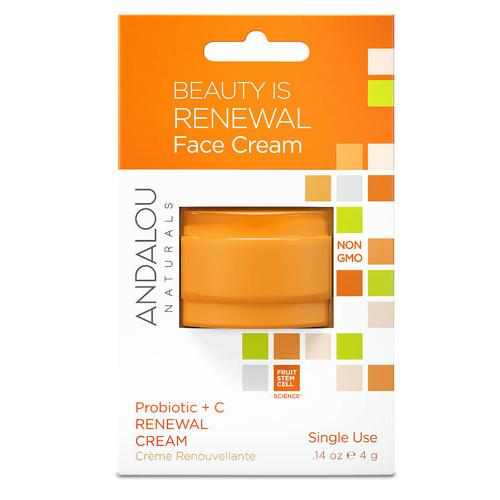 Andalou Naturals Probiotic plus C Renewal Cream Pod -- 0.14 oz