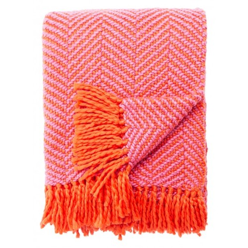 Kate spade new york astor throw, orange