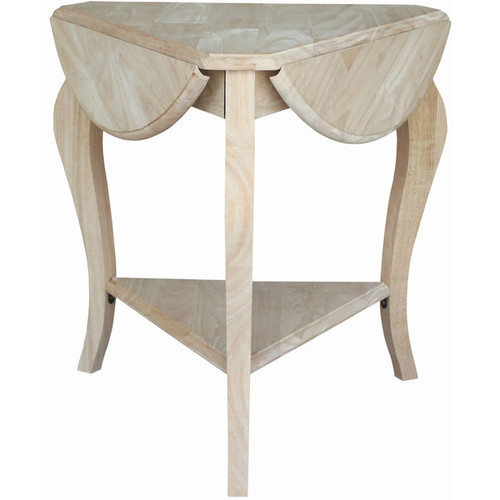 International Concepts Cambria Dropleaf End Table