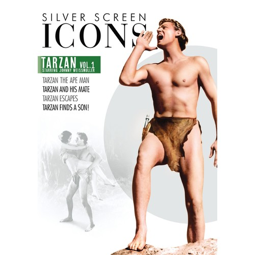 Silver Screen Icons: Johnny Weissmuller as Tarzan - Vol. 1 [DVD]