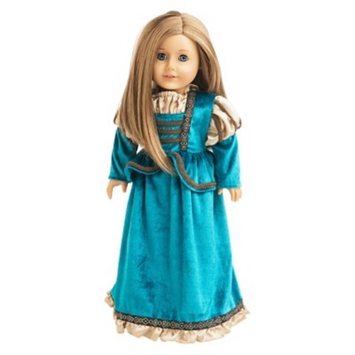 Little Adventures Doll Dress Scottish Princess