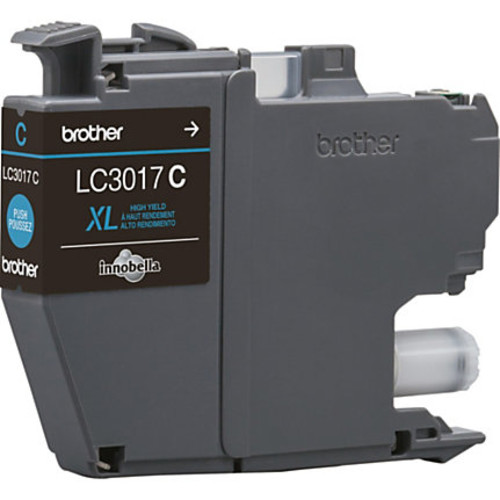 Brother Innobella LC3017C High-Yield Cyan Ink Cartridge