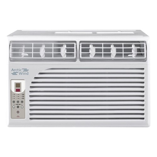 Arctic Wind - 8,000 BTU Window Air Conditioner - White