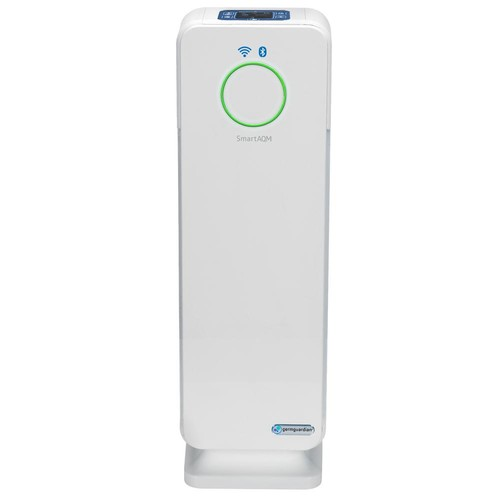 GermGuardian Smart Elite 4-in-1 True HEPA Purifier with UV Sanitizer, Odor Reduction and WiFi 22 in. Tower