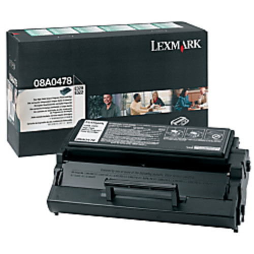 Lexmark 8A0478 Return Program Black Toner Cartridge