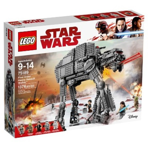 LEGO Star Wars The Last Jedi First Order Heavy Assault Walker 75189