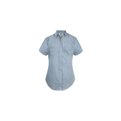 Elbeco Womens, Blue, Express Dress Short Sleeve Shirts