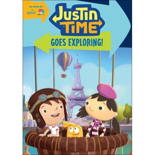 Justin Time: Goes Exploring! [DVD]