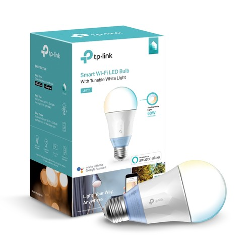LB120 Wi-Fi Smart LED Bulb with Tunable White Light