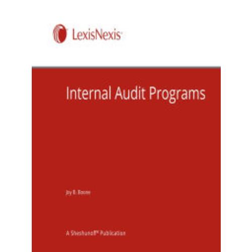 Internal Audit Programs