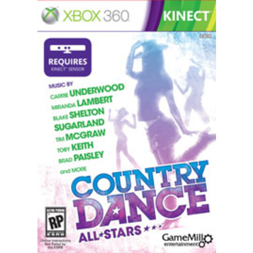Country Dance: All Stars Kinect [Pre-Owned]