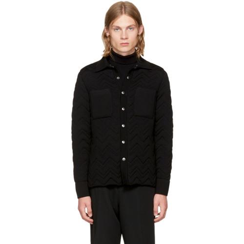 MISSONI Reversible Black Chevron Jacket