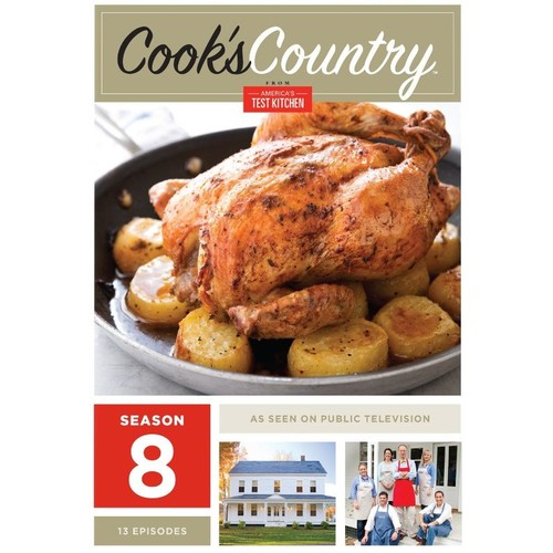 Cook's Country: Season 8 [2 Discs] [DVD]
