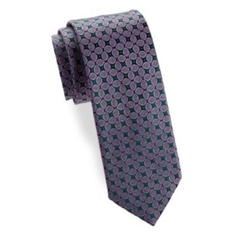 Leaf Silk Narrow Tie