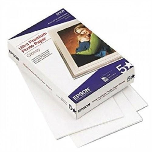 100-Sheet 4x6 Glossy Ultra Premium Photo Paper