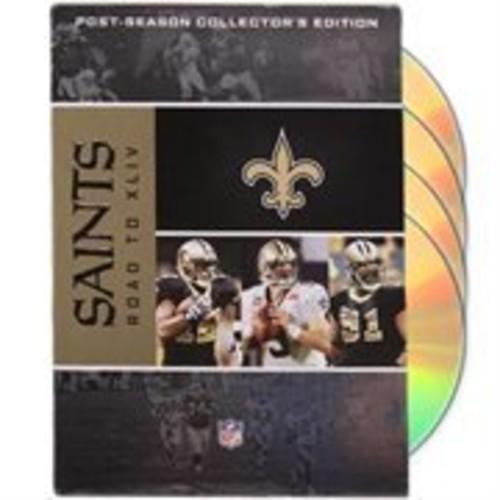 Orleans Saints Road to Super Bowl XLIV DVD