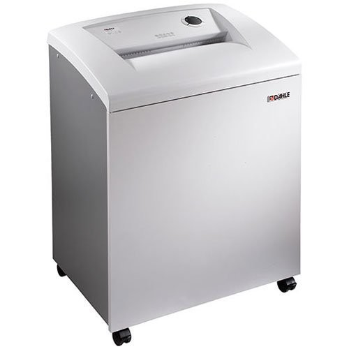 DAHLE CleanTEC 41614 Paper Shredder w/Fine Dust Filter, Automatic Oiler, SmartPower, Security Level P-4, 25 Sheet Max, 5+ Users [P-4 Security, 45 Gallons]
