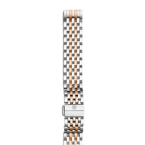 Deco II Two-Tone Watch Bracelet, 16mm