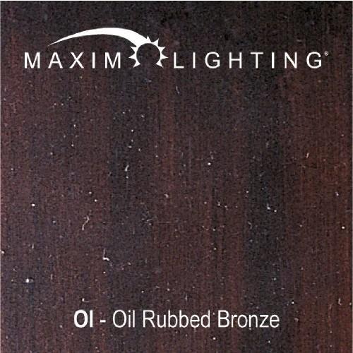 Maxim Lighting 8015MROI Five Light Marble Glass Vanity, Oil Rubbed Bronze [Oil-rubbed Bronze]