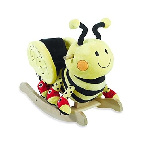 Rockabye Buzzy Bee Musical Rocker