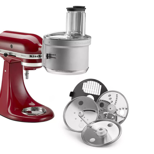 Food Processor Attachment with Commercial Style Dicing Kit