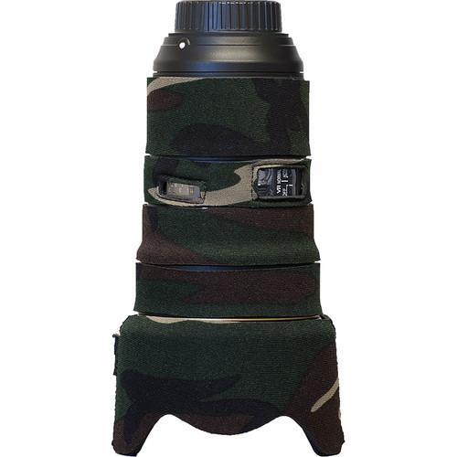 Lens Cover for Nikon 24-70mm f/2.8E VR (Forest Green Camo)
