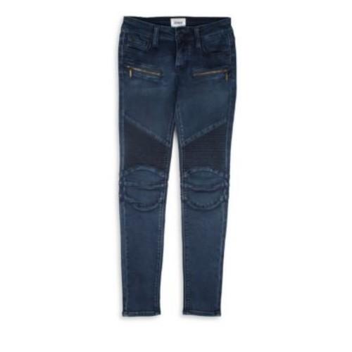 Girl's Moto Skinny Jeans