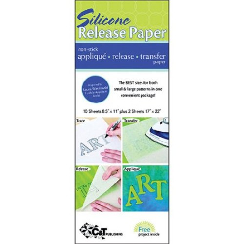 C&T Silicone Transfer Release Paper 12pc