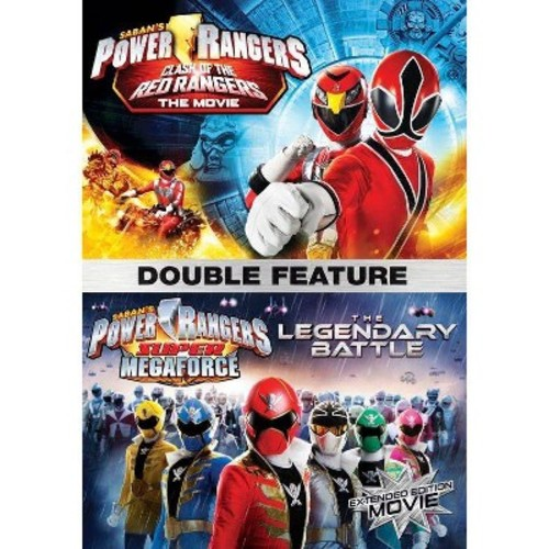 Power Rangers: Clash Of The Red Rangers / The Legendary Battle