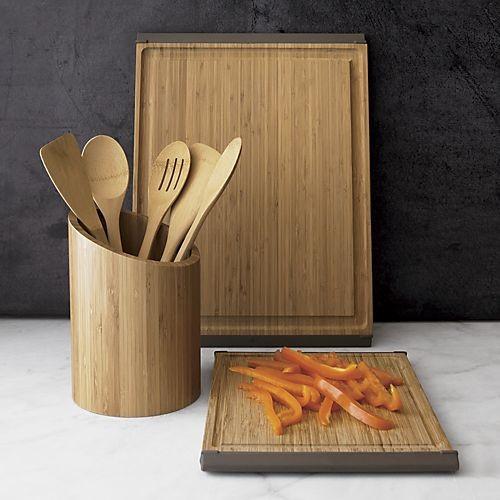 5-Piece Organic Bamboo Utensil Set