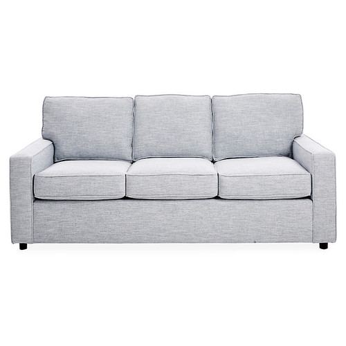 Monaco Sofa, Ice Blue