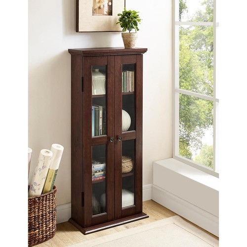 Walker Edison Furniture Company Traditional Brown Storage Cabinet