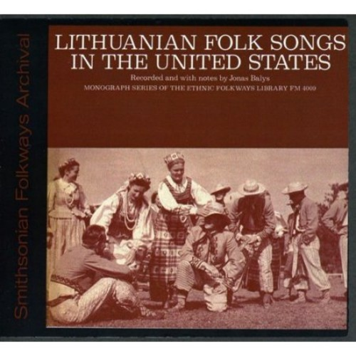 Lithuanian Folk Songs In The United S