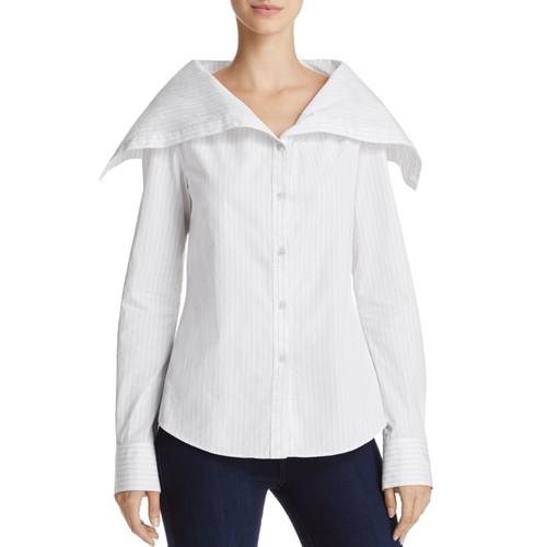 THEORY Doherty Pinstripe Shirt