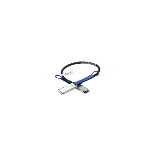 Mellanox Technologies MCP7F00-A002 Linkx Passive Copper Hybrid Eth - Network Cable - Sfp28 (M) To Qsfp28 (M) - 6.6 Ft - Sff-8402/Sff-8665/Sff-8431/Sff-8432Ieee 802.3Bj/Ieee P802.3By - Passive - Black