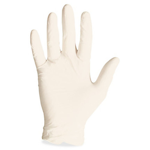 ProGuard Disposable Latex PF Gen Purp Gloves - X-Large Size - Latex - Natural - Disposable, Powder-free, Beaded Cuff, Ambidextrous, Comfortable - For General Purpose, Food Handling, Food, Assembling, Manufacturing - 1000 / Carton