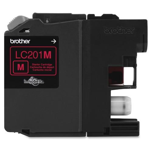 Brother Innobella Lc201m Ink Cartridge - Magenta - Inkjet - Standard Yield - 260 Page - Oem (lc201m)