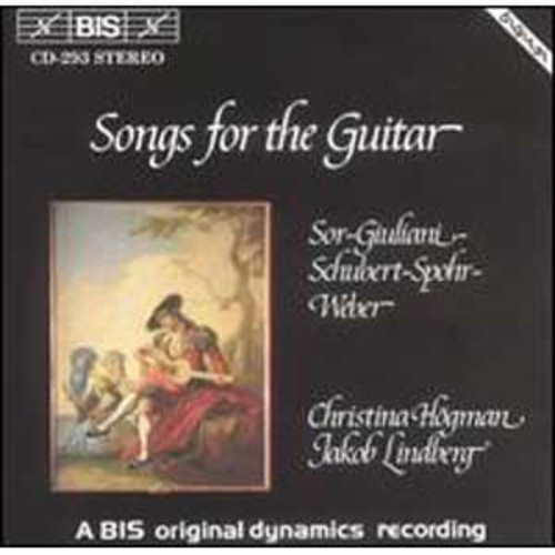 Songs for the Guitar By Christina Hogman (Audio CD)