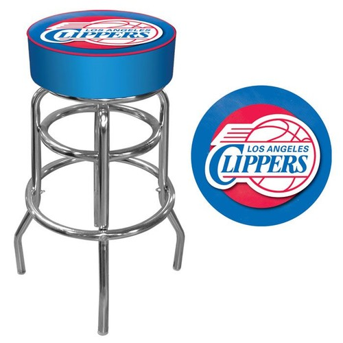 NBA(CANONICAL) Los Angeles Clippers Padded Swivel Bar Stool