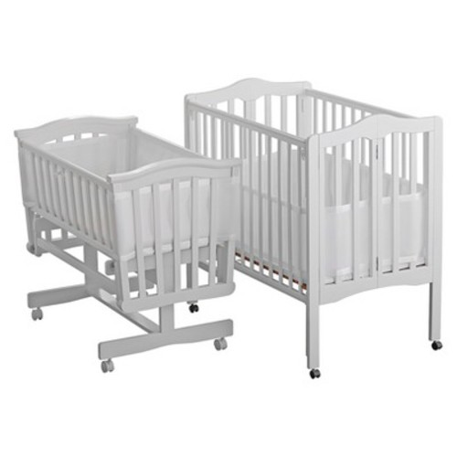 BreathableBaby(R) Breathable(R) Portable Mesh Crib Liner