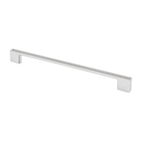 TOPEX Swarovski Crystal Collection 10.37 in. Chrome/Crystal Cabinet Pull