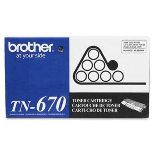 Brother Black Toner Cartridge - BROTHER - TN670
