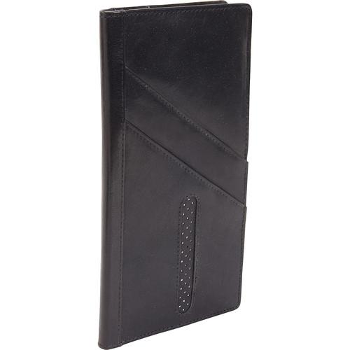 Dopp Men's Alpha RFID Blocking Passport Travel Wallet [Black, One Size]