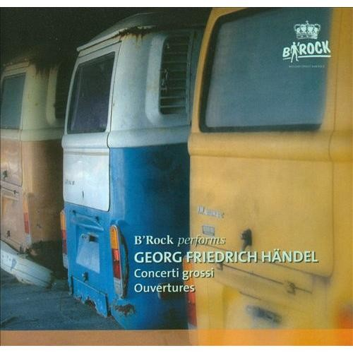Handel: Concerti grossi; Ouvertures [CD]