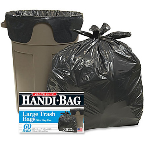 Webster Handi-Bag Wastebasket Bags - Medium Size - 30 gal - 30