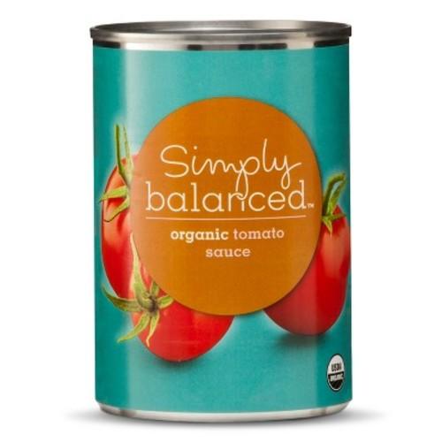 Organic Tomato Sauce 15oz - Simply Balanced