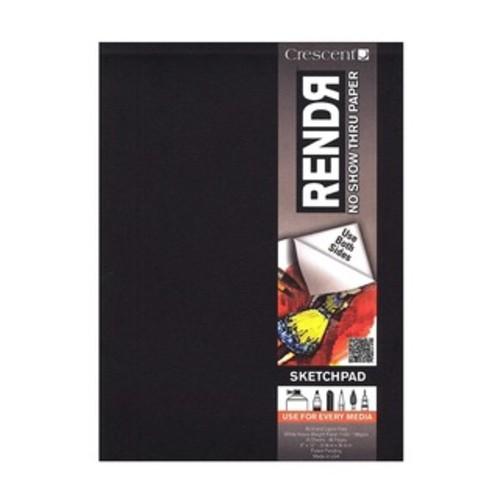 RENDR No Show Thru Lay Flat Sketch Book 3.5inX5.5in32 Sheets
