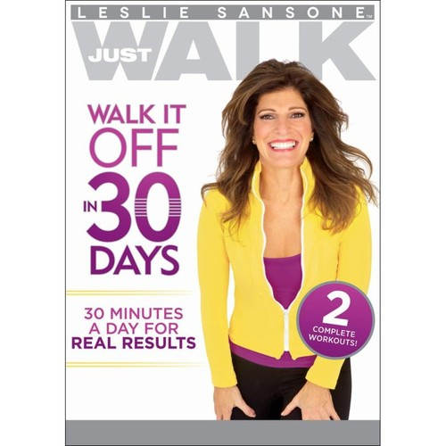 Leslie Sansone: Just Walk - Walk It Off in 30 Days [DVD]