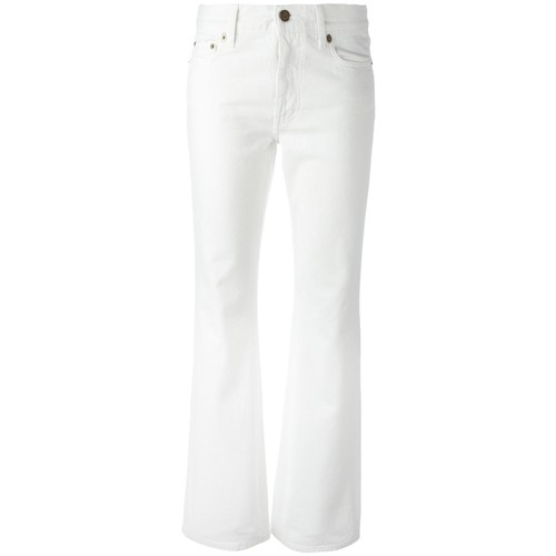SAINT LAURENT Original Cropped Flared Jeans