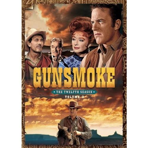 Gunsmoke: The Twelfth Season - Volume Two [4 Discs] [DVD]